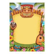 Luau Invitations Hawaiian Party Invitations Zazzle Com