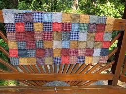 Snug Harbor Quilts: Snuggly Homespun Plaid Rag Quilts & Snuggly Homespun Plaid Rag Quilts Adamdwight.com