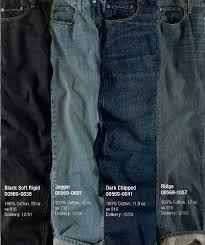 Levis Color Codes Chart Levi Jeans Color Chart Bedowntowndaytona Com