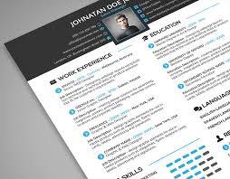 Creative Resume Cover Letter Portfolio 3 In 1 Psd Template