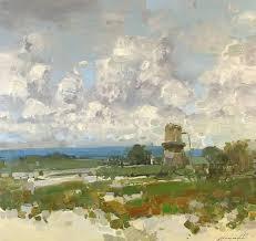 saatchi art artist vahe yeremyan painting old mill landscape oil painting