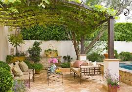 mediterranean outdoor furniture. Beautiful Grape Arbor Mediterranean Patio Design Outdoor Furniture Wrought Iron | Garden - Jenni Steele ID-19118 O