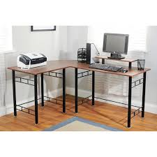black steel l shaped desk black desk vintage espresso wooden