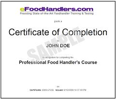 food handlers card texas certification testing kitchen