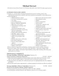 Quality Resumes Quality Assurance Resume High Quality Resumes