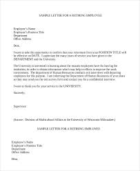 2 Simple Retirement Letter To Employer Pdf Free Premium Templates