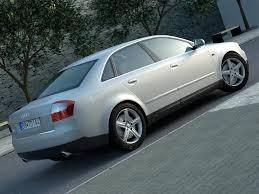 Audi A4 (2003) 3D Model – Buy Audi A4 (2003) 3D Model   FlatPyramid