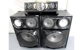 speakers that light up. samsung mx-hs9000 stereo system with light up speakers that w