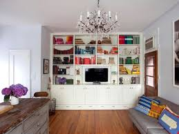 Living Room Bookcase 1000 Ideas About Tv Bookcase On Pinterest Media Consoles Futon