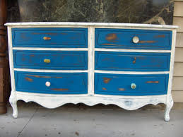 blue shabby chic furniture. French Country Shabby Chic Inspired Dresser With Knob Variety Blue, White Blue Furniture