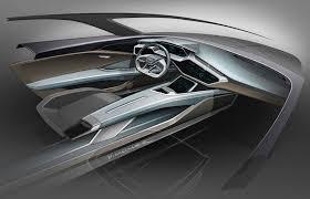 2018 audi e tron suv. interesting suv 2018 matrix oled headlights the interior sketches of new q6 etron audi  claim the range throughout audi e tron suv