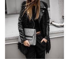 julia mateian in blanknyc vegan leather the blanknyc vegan leather moto jacket in ol lady