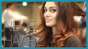 Neue Frisur Neue Haare Farbe Und Schnitt Youtube