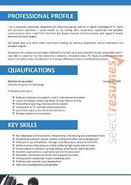 Journalist Design 040 Select Resumes
