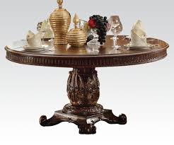 vendome cherry round dining table set