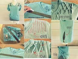 no sew t shirt no sew clothing s ideas 3