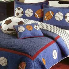 image of sports decor for boys room