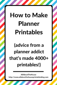 Daily Planners 2015 2020 How To Make Planner Printables Advice From A Planner Addict