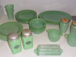 Fire King Jadeite Jane Ray Dishes - I love to set my table with these.
