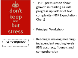 F And P Reading Level Chart Stretching Further In F P Calibration Ppt Download