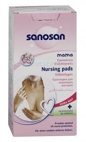 <b>Прокладки для кормящих</b> матерей 30 шт. <b>Sanosan</b> - купить ...
