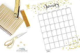 calendar 2018 free printable 13 free printable calendars for 2018