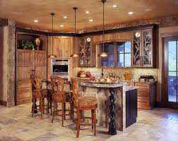 fabulous rustic kitchens. With Wooden Chairs Small Fabulous Decor Country Design Of Rustic Decorating Ideas For Kitchens Kitchen