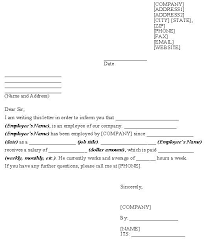 Sample Of Employment Certification Letter Verification Of Employment Letter Sample Template