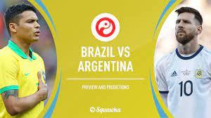 Brazil v Argentina predictions & line ...