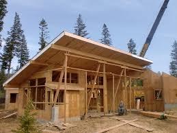 luxury mountain home plans cabin hillside steep house small modern