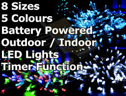 battery operated multi function outdoor led timer lights light with remote more views