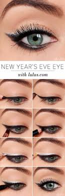 eyeshadow tutorials for beginners new year s eve eyeshadow tutorial step by step tutorial guides