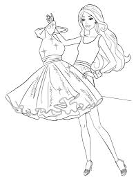 Small Picture Barbie Coler Coloring Coloring Pages
