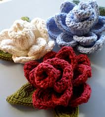 Knitted Flower Pattern Mesmerizing Knit Flower Pattern A Knitting Blog