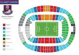 Os West Ham Seating Plan Revealed Claretandhugh