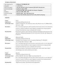 Net Developer Resume Ideas Of Sample Resume For Dot Net Developer
