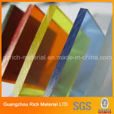 colored plexiglass sheet china resistant cast acrylic plastic sheet for bending cutting