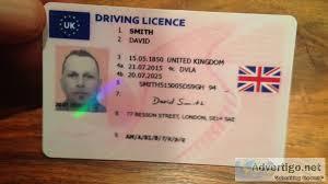 Drivers - License Oklivin Fake Uk