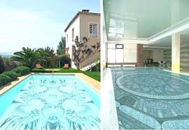 tile pool cost glass tile for swimming pools pool cost design with mosaic tiles by