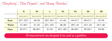 Spanx Size Chart Higher Power Spanx Size Guide