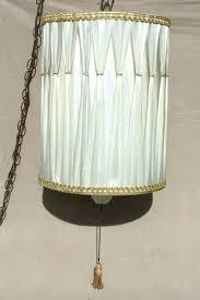 image vintage drum pendant lighting. White And Gold Lampshade Lamp Shade Vintage Drum Pendant Light Regency Inside Image Lighting