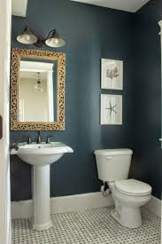 Colorful Ideas To Visually Enlarge Your Small Bathroom Small Bathroom Colors For Small Bathroom