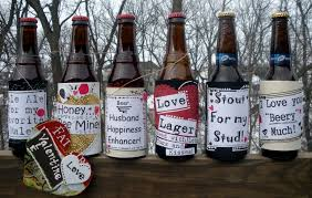 13 custom beer bottles