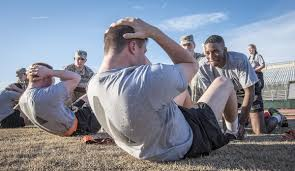Army Apft Sit Up Chart Army Apft Standards For Males And Females Updated 2019