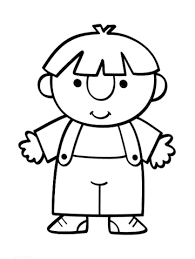 Small Picture A boy coloring page Free Printable Coloring Pages