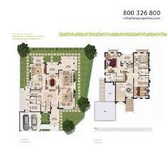 3 Bedroom Type A - Mudon Independent Villas - Floorplan