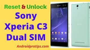 Unlock Sony Xperia C3 Dual SIM ...
