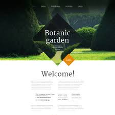 40 Best Garden Design Website Templates Stunning Garden Web Design Design