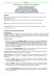 Assistant Professor Sample Resumes Unique Resume Samples For Professors Resume Samples For Professors 8