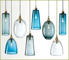 hand blown glass pendant lights high ceiling